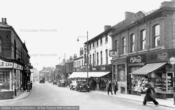 Photo of Eccles, Church Street c.1955