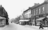 Eccles, Church Street c1955