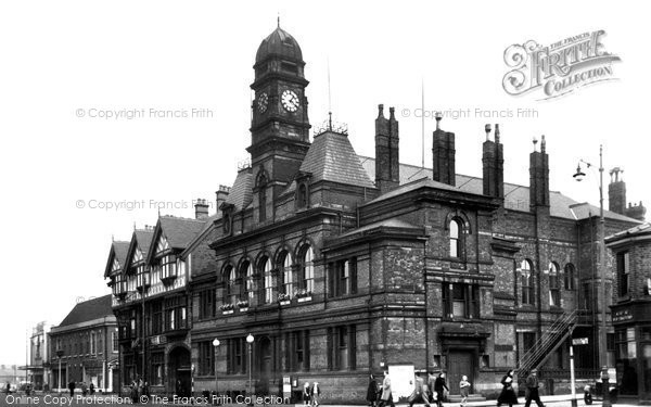 Photo of Eccles, The Town Hall c.1955