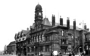 Eccles, the Town Hall c1955