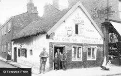 Ye Olde Thatche, Church Street c.1900, Eccles