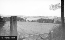 Ecclesfield, Cornfields Near Village c.1955