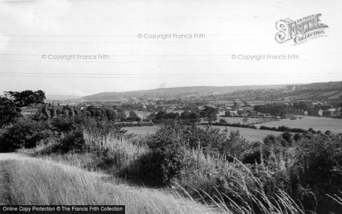 Photo of Ecclesfield, Hunshelf Looking East c.1955