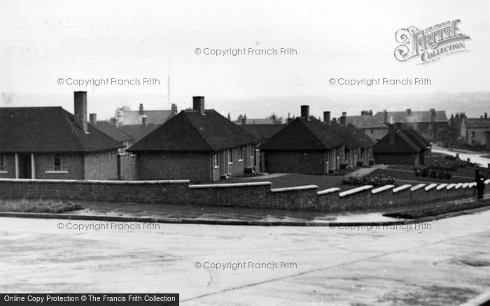 Photo of Ecclesfield, Old People's Bungalows, Greaves Road c.1955