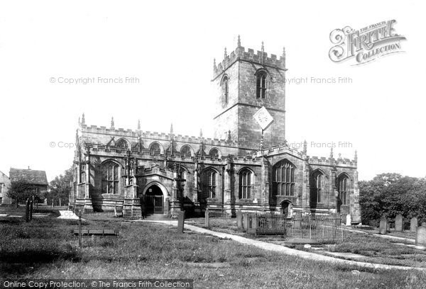 Photo of Ecclesfield, St Mary's Church 1902