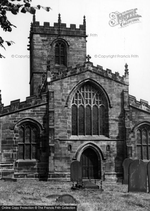 Photo of Ecclesfield, St Mary's Church c.1955