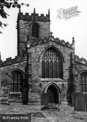 Ecclesfield, St Mary's Church c.1955