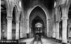St Mary's Church Interior 1902, Ecclesfield
