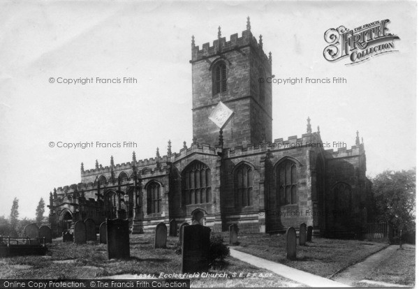 Photo of Ecclesfield, St Mary's Church, South East 1902