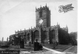 Ecclesfield, St Mary's Church, South East 1902