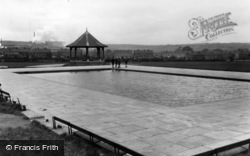 Ecclesfield, The Park, Children's Paddling Pool c.1955