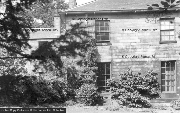 Photo of Ecclesfield, The Vicarage c.1955