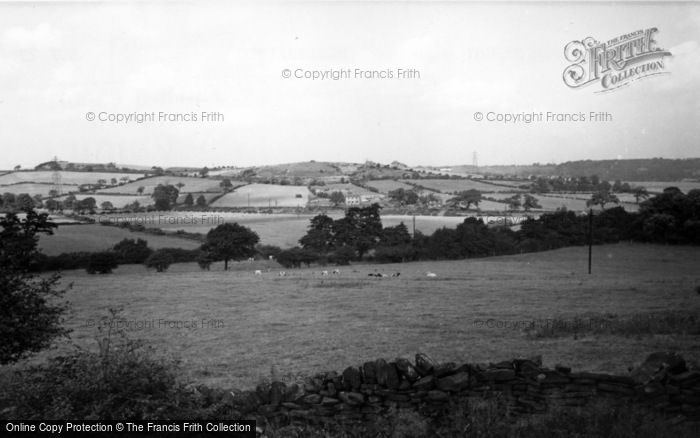 Photo of Ecclesfield, Valley From Priory Road c.1955