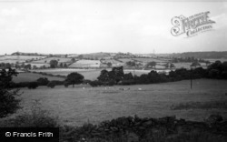 Ecclesfield, Valley From Priory Road c.1955
