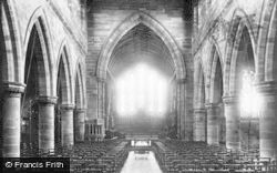 Eccleshall, Church Interior 1900