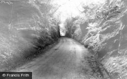 Eccleshall, Country Lane c.1965