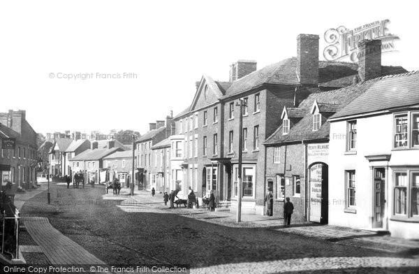 Eccleshall, High Street 1900