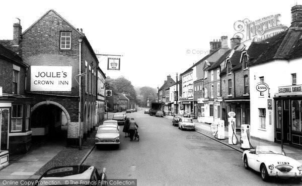 Eccleshall, High Street 1968