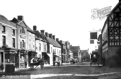 Eccleshall, High Street And Royal Oak 1900