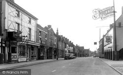 Eccleshall, High Street c.1955