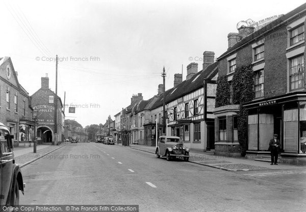 Eccleshall, High Street c1955