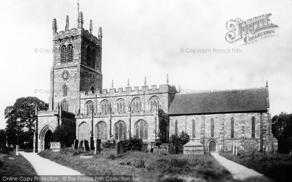 Eccleshall, Church 1900