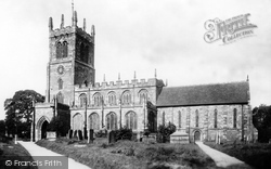 Eccleshall, Holy Trinity Church 1900