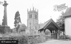 Eccleshall, Holy Trinity Church c.1955
