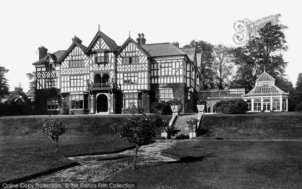 Photo of Eccleshall, Johnson Hall 1900