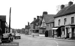 Eccleshall, Stafford Street c.1955