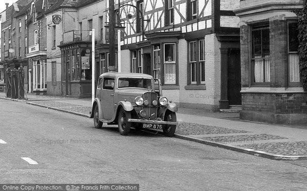 Eccleshall, Car c1955