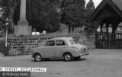 Eccleshall, Standard 8 Car In Church Street c.1960