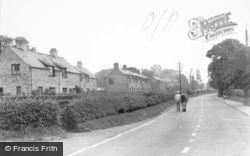 Eccleshall, Stone Road c.1955