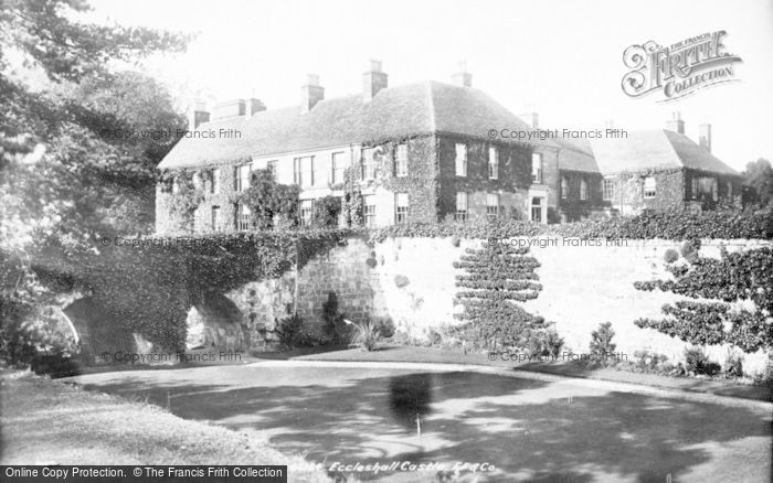 Photo of Eccleshall, The Castle 1900