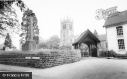 Eccleshall, The Church c.1965