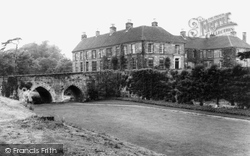 Eccleshall, The Moat And House c.1965