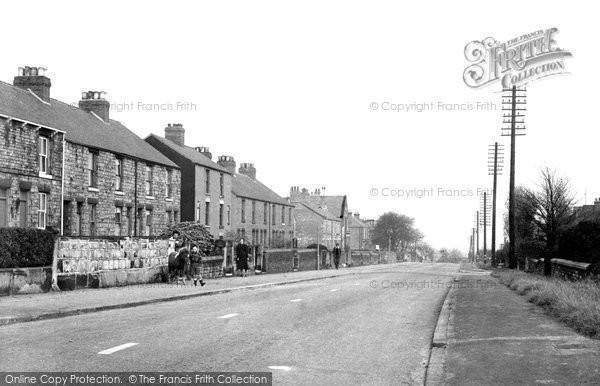 Eckington, Chesterfield Road c1955
