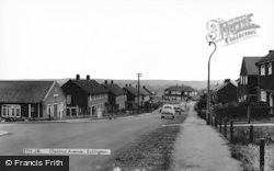 Chestnut Avenue c.1955, Eckington