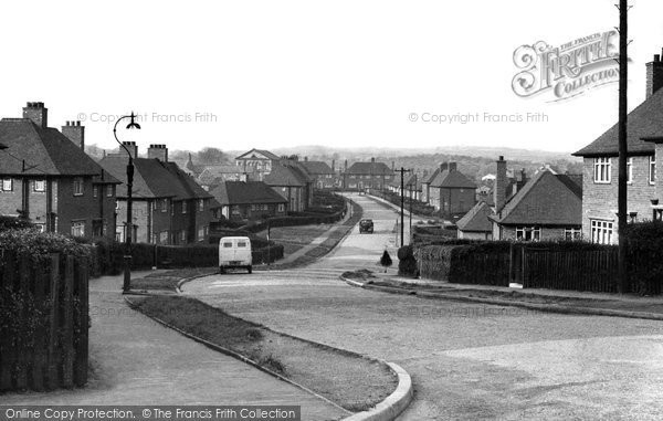 Eckington, Lansbury Road c1955