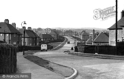 Lansbury Road c.1955, Eckington