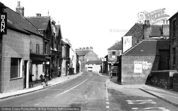 Eckington, Market Street c1955
