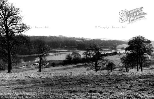 Eckington, Renishaw Park and Lake c1955