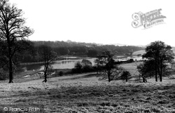 Renishaw Park And Lake c.1955, Eckington