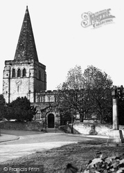 St Peter And St Paul's Church c.1955, Eckington
