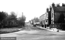 Station Road c.1955, Eckington