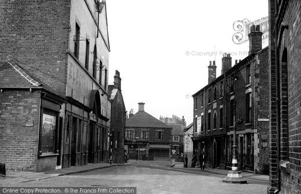 Eckington, the Cross c1955