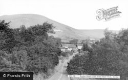 Barber Booth View From Mam Nick c.1960, Edale