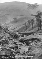 Bridge At Jacobs Ladder c.1955, Edale