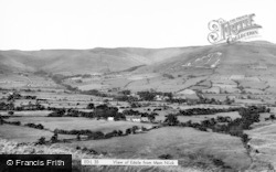 From Mam Nick c.1955, Edale
