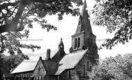 Edale, the Parish Church c1955
